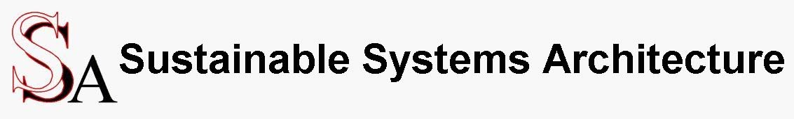 Sustainable Systems Architecture